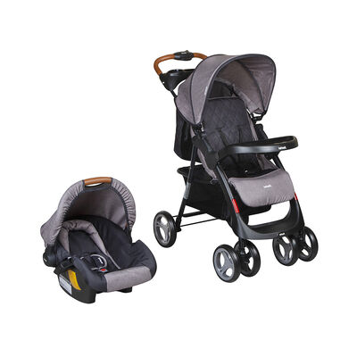 Coche Travel System Pompeya Grey