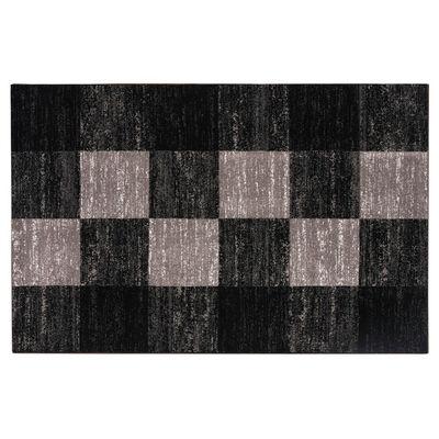 Alfombra Idetex Carved Negro 150 x 200 cm