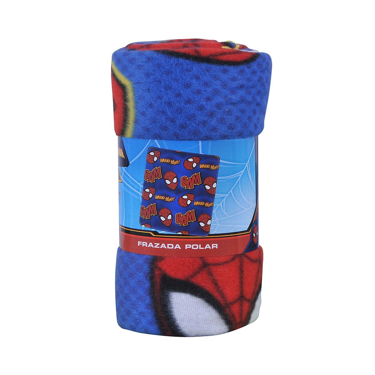 Frazada Polar Marvel Spiderman 115 x 130 cm