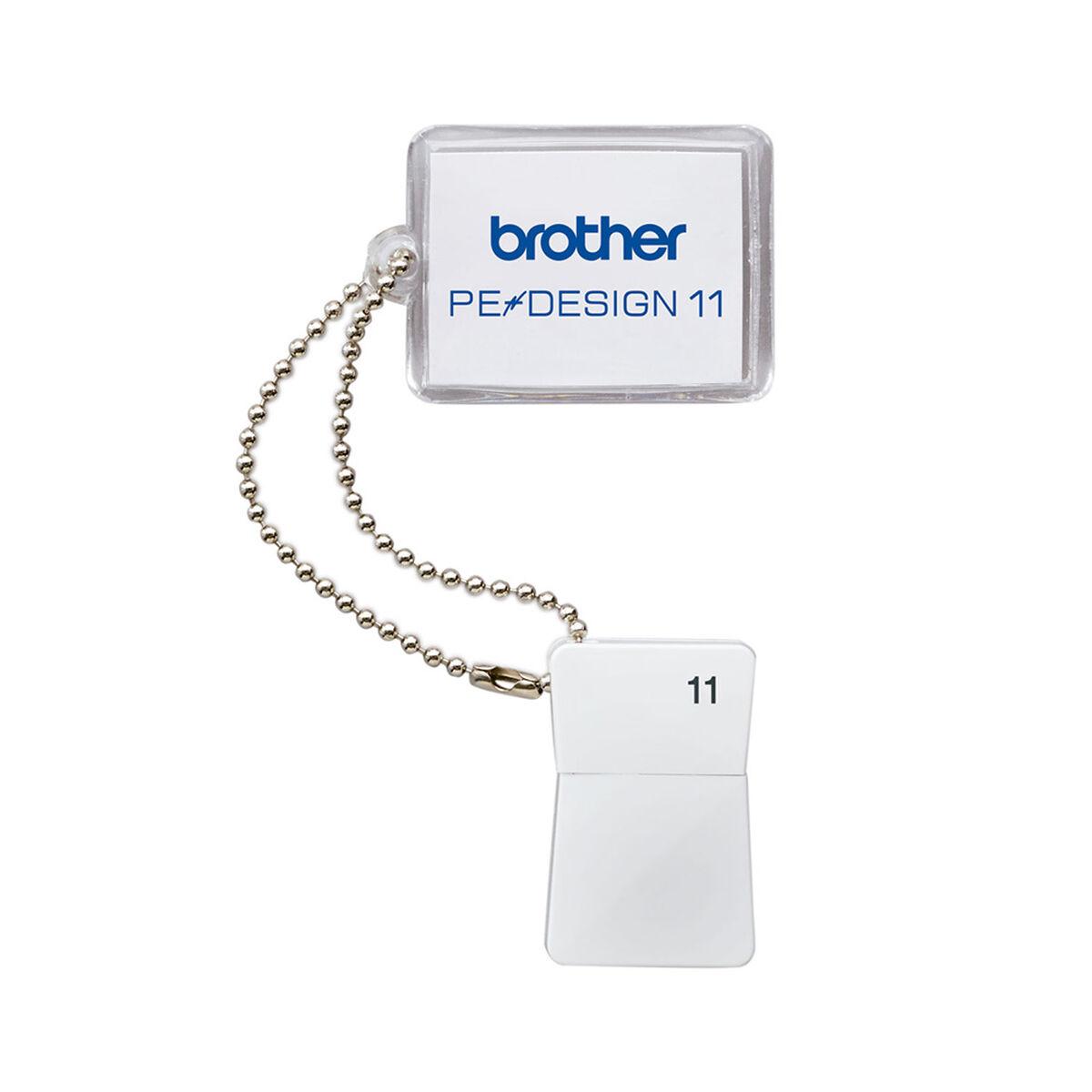 Software de Diseño Para Bordadoras Brother Pedesign 11