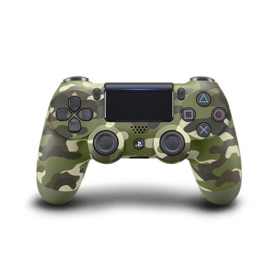 Control PS4 Dualshock 4 Green Camouflage