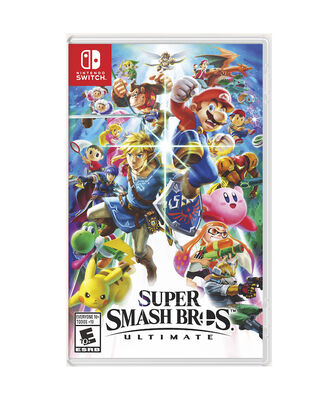 Juego Nintendo Switch Mario Super Smash Bros