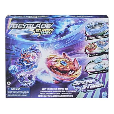 Set con Beystadium, 2 tops y 2 lanzadores Bey Blade