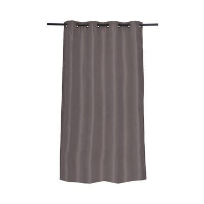 Cortina Blackout Argolla Natural Gris 140X220 Cm