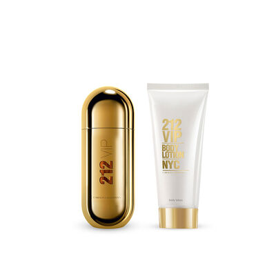 Estuche 212 VIP (EDP 50ml +Body Lotion 75 ml)