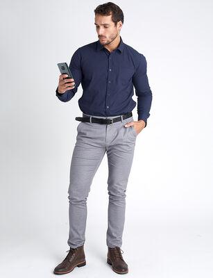 Pantalón Liso Básico Zibel Hombre PASTEXTM