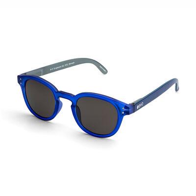 Anteojos de Sol Matt Blue Solid Grey