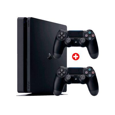 PS4 Sony 500GB + 2 Mandos Inalámbricos DualShock