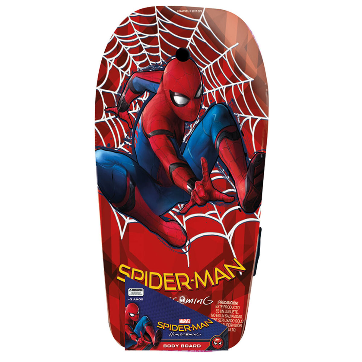 Tabla de Body Spiderman Marvel