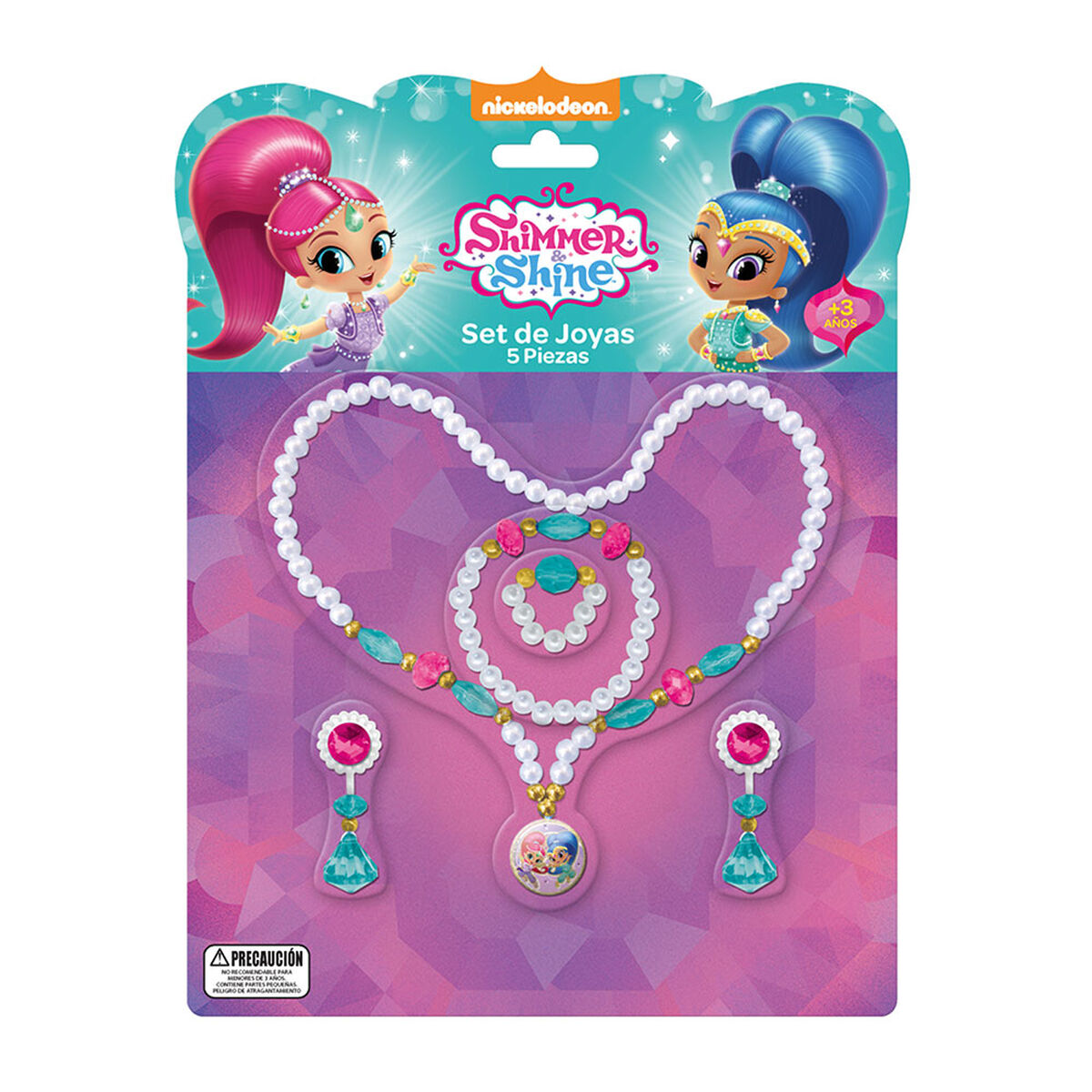 Set De Joyas Shimmer And Shine Nickelodeon