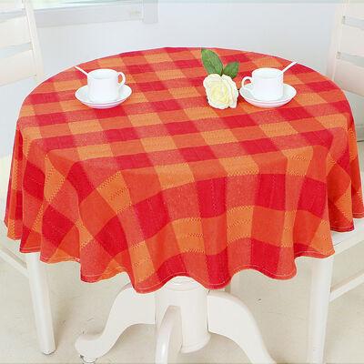 Mantel Redondo Doral Escoces 180 Cm