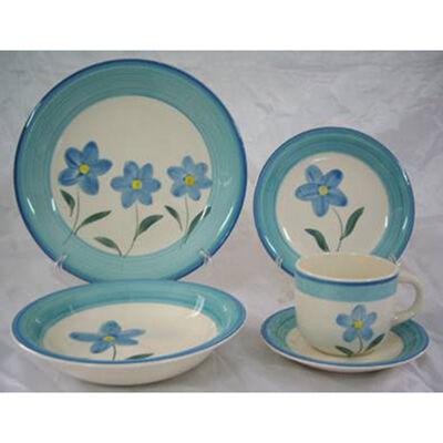 Juego de Vajilla D&M Florencia Azul 30 Piezas
