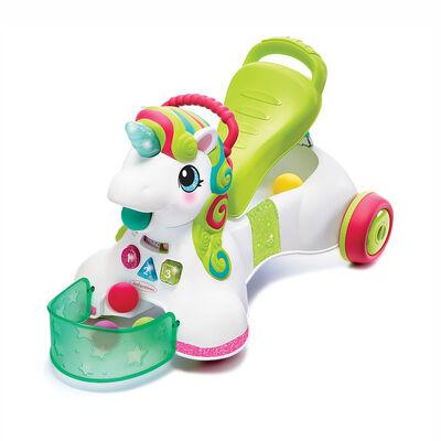 Andador 3 En 1  Sit Walk & Ride Unicorn