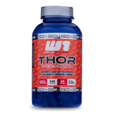 L-Arginina Thor 240 Cápsulas 60 Porciones