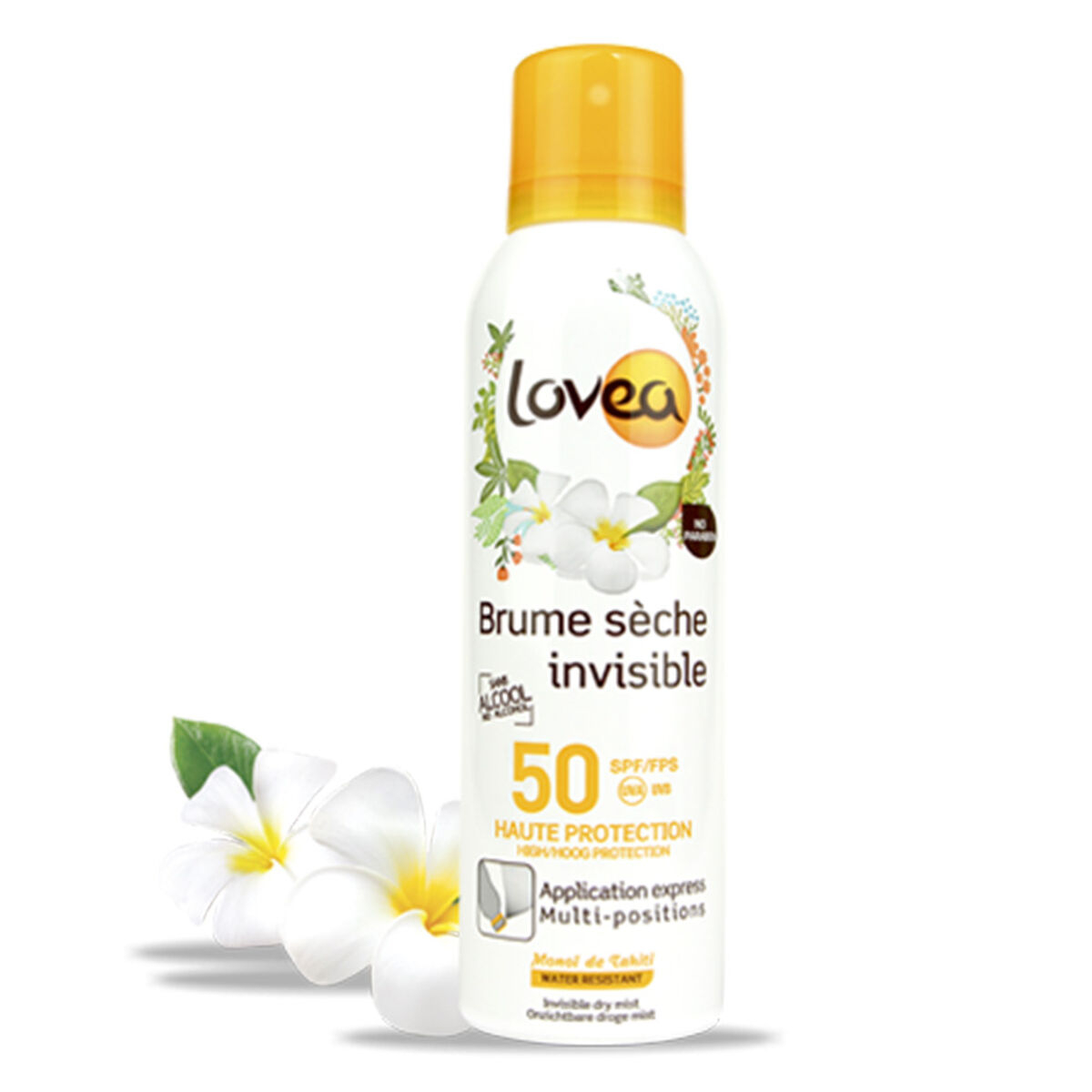 Spray Protector Solar Invisible Monoï de Tahiti - SPF 50  - 200 ml