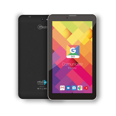 "Tablet Microlab MB4 3G Quad Core 1GB 16GB 7"" Negro"