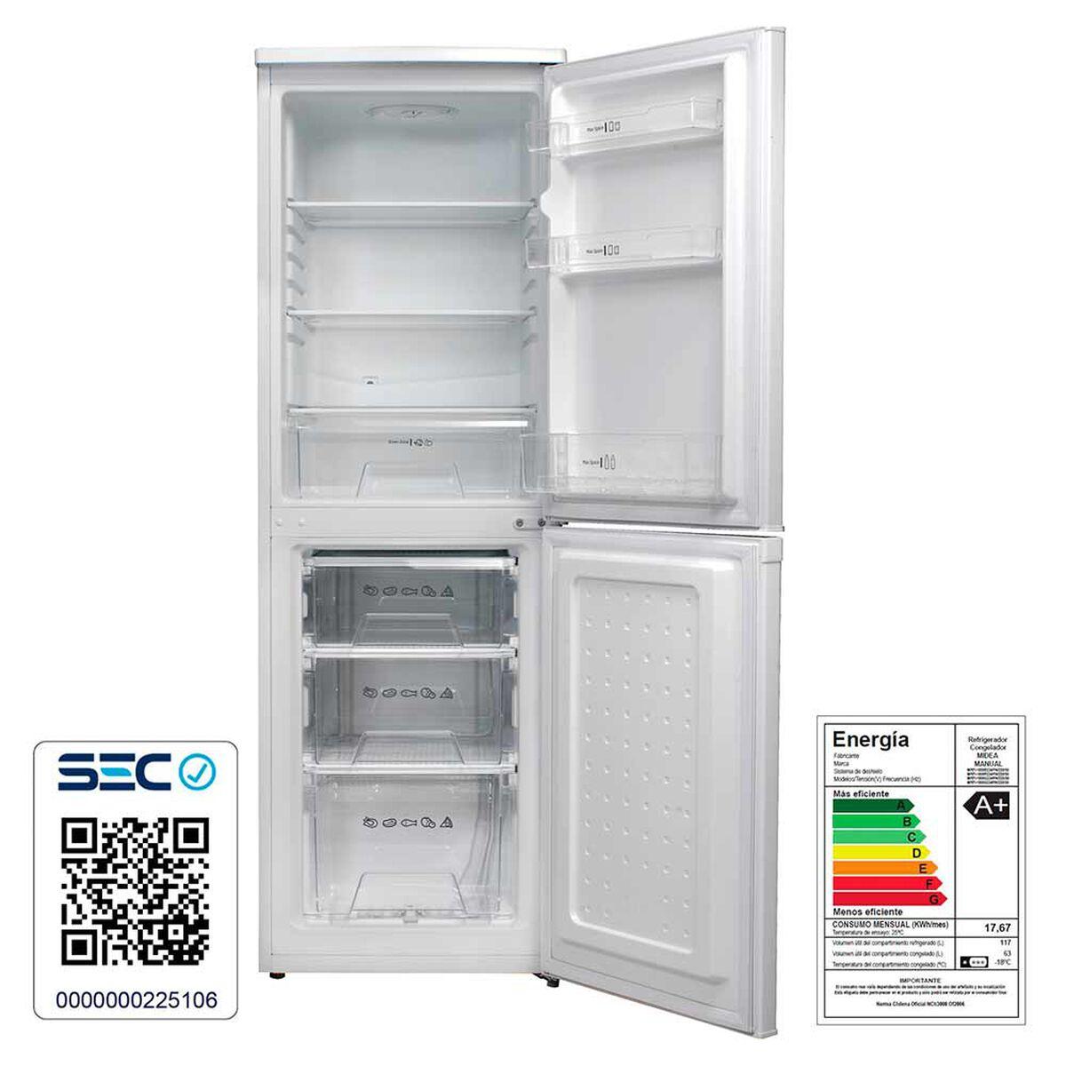 Refrigerador Frío Directo Midea MRFI 1800S 180 lt