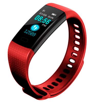 Banda Deportiva Lhotse Smart Wristband LhotseSM36 Rojo