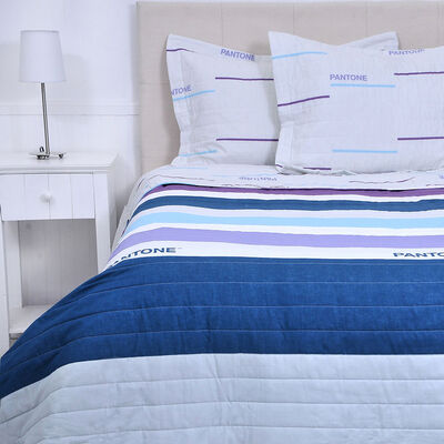 Quilt Sea 2 Plazas Multicolor