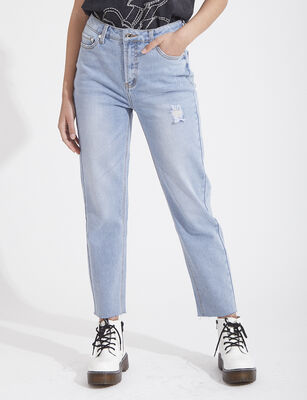 Jeans Recto Mujer Zibel