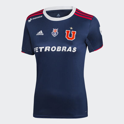 Camiseta Adidas Mujer Universidad de Chile 2019