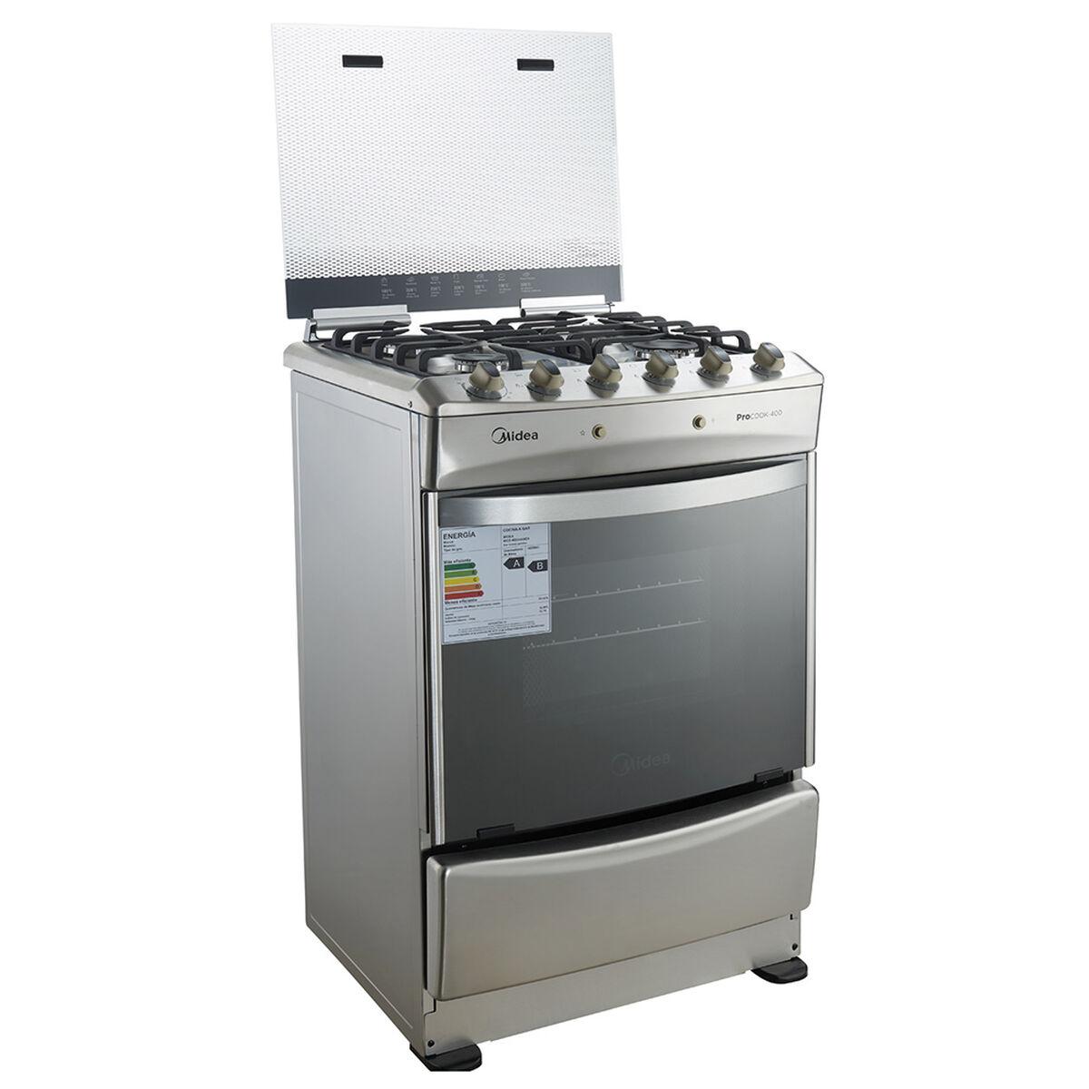 Cocina a Gas Midea MCG-4QI24A 4 Quemadores