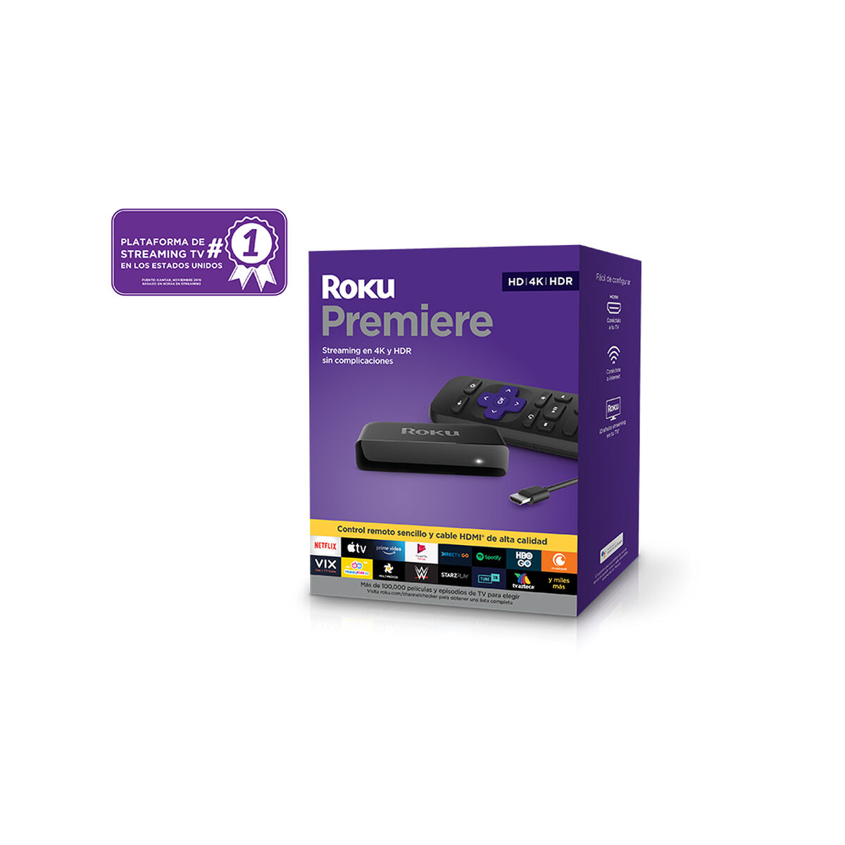 Reproductor Streaming Roku Premiere 3920MX