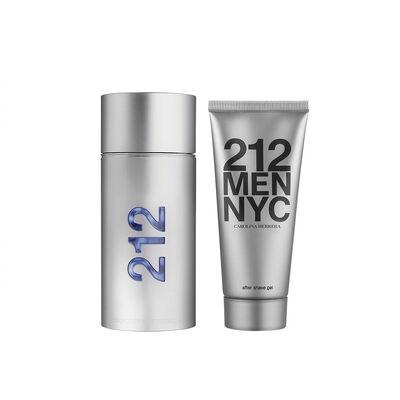 Estuche 212 Men EDT 100 ml + Shower Gel 100 ml