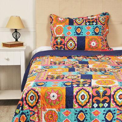 Quilt Arabic 1,5 Plazas Multicolor