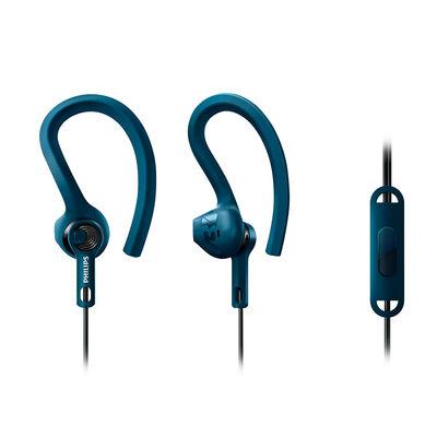 Audífonos Deportivos In Ear Philips SHQ1405BL Actionfit RunWild Azules