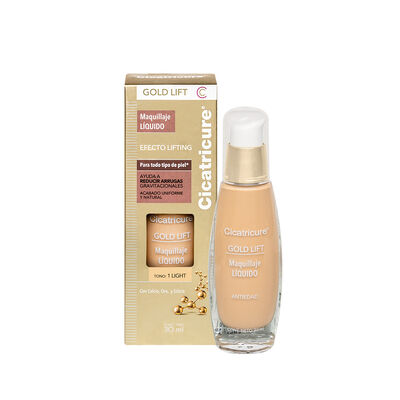 Cicatricure Gold Lift Maquillaje Liquido Light 30 ml
