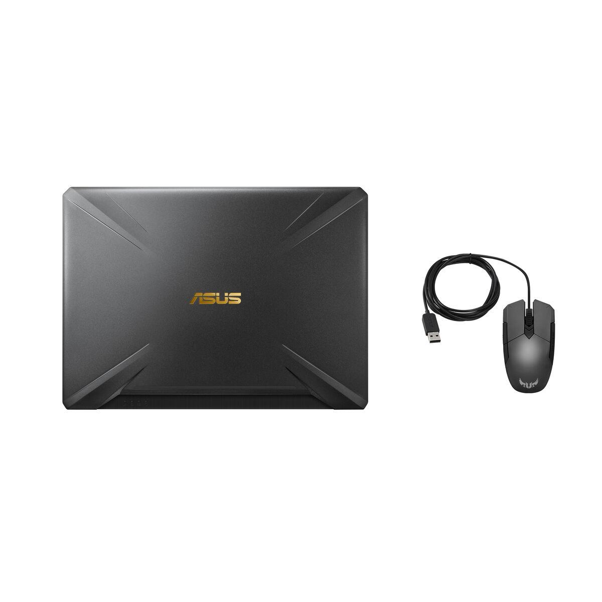 "Notebook Gamer Asus TUF FX505DT-BQ100T Ryzen 7-3750H 8GB 512GB SSD 15.6"" NVIDIA GTX1650 4GB"