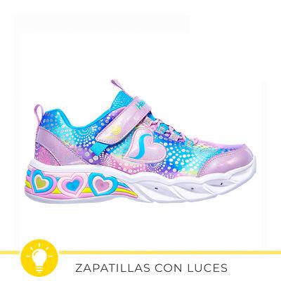 Zapatilla Con Luces Niña Skechers Sweetheart