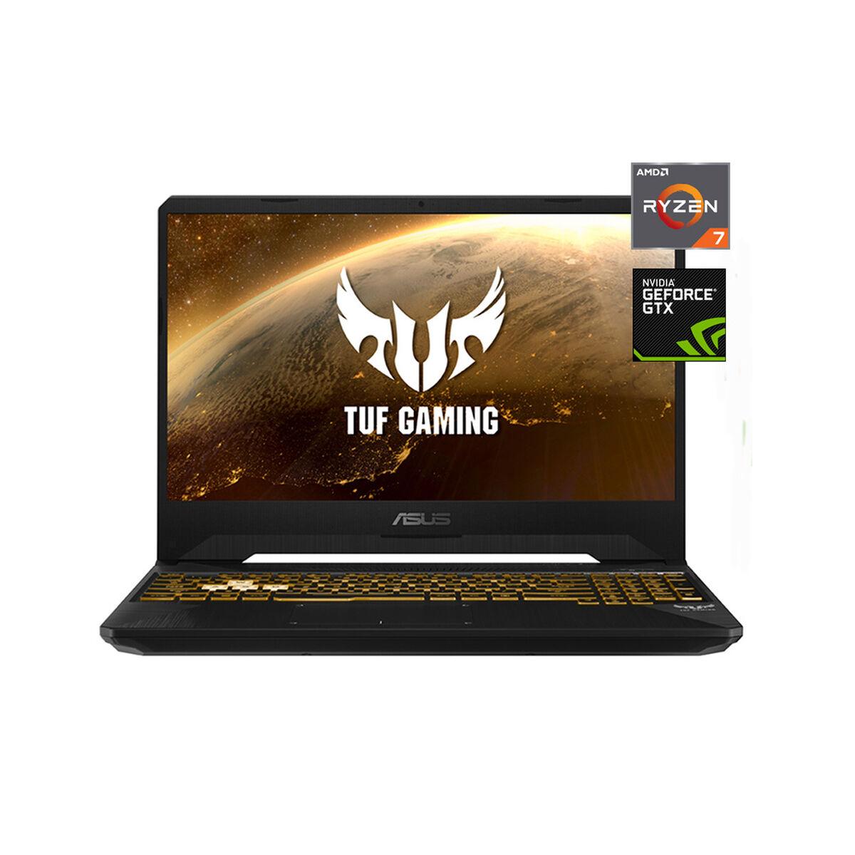 Notebook Gamer Asus FX505DT-BQ100T Ryzen 7-3750H 8GB 512GB SSD 15.6