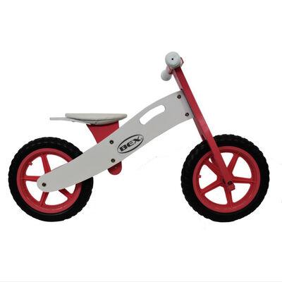 Bicicleta de Equilibrio BEX de Madera Roja BCI001