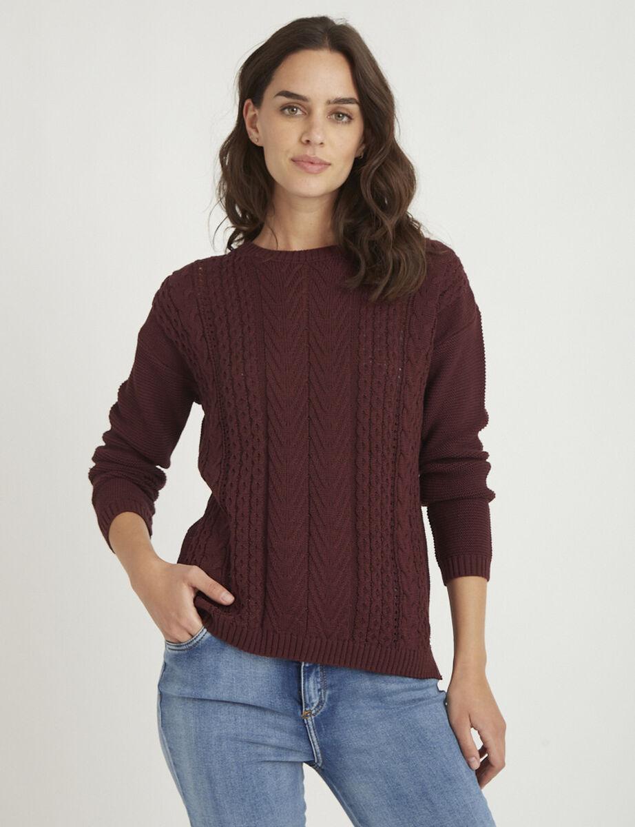 Sweater de Algodón Mujer Zibel