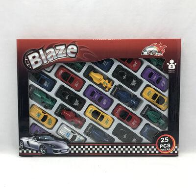 Set Autos 25 Piezas