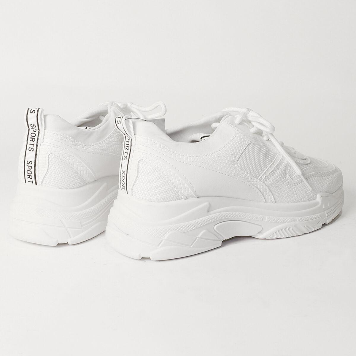 Zapatilla Chunky White Fiorucci