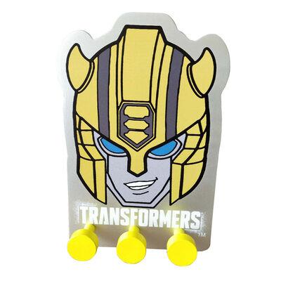 Percha Pared Niño Transformers