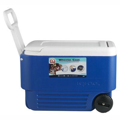 Cooler Igloo Wheelie 36L Con Ruedas Azul