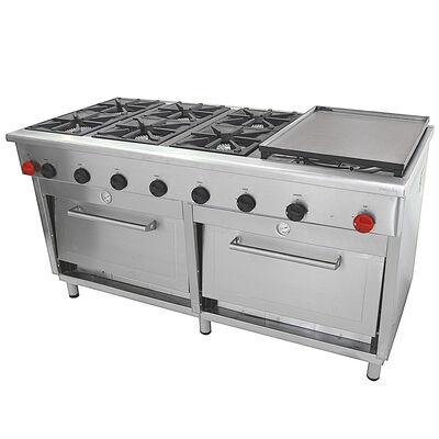 Cocina Industrial Maigas 6EA56 6 Platos GLP