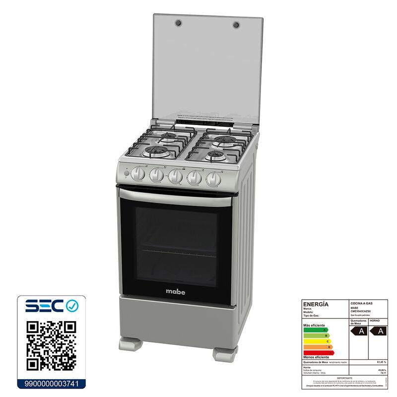 Cocina a Gas Mabe CME5543CAZS 74 lt