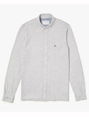 Camisa de Algodón Hombre Lacoste