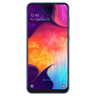 "Celular Samsung Galaxy A50 6,4"" Azul Movistar"