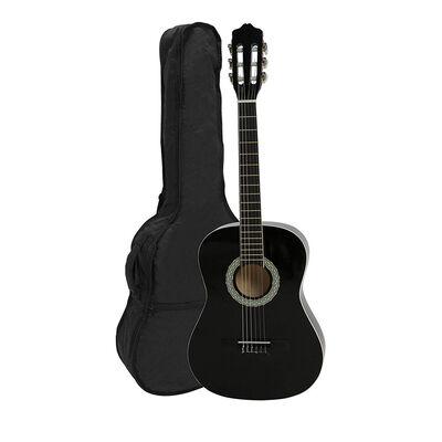 Guitarra Clásica Alaguez Negra 38″ + Bolso AZ-G38N