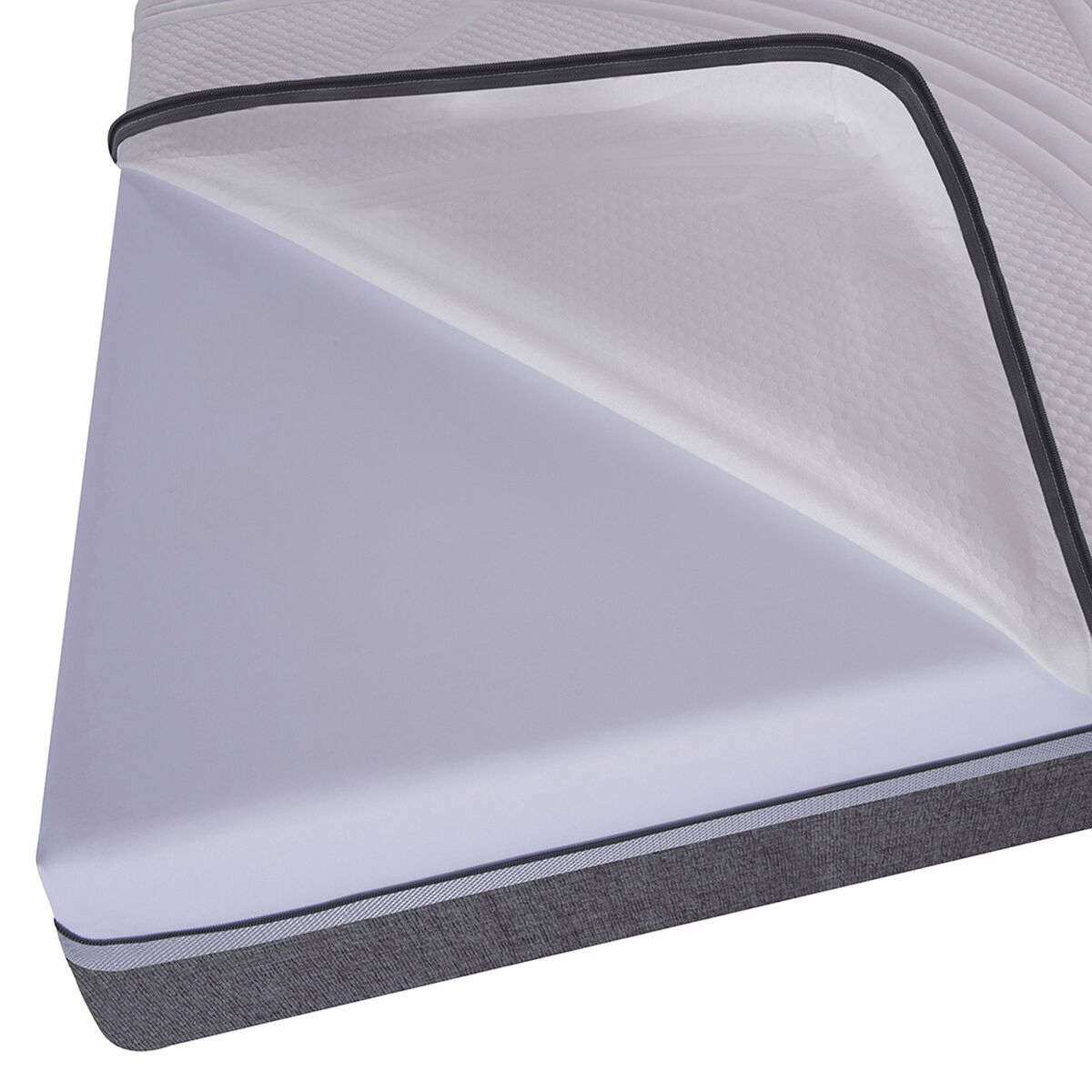Cama Europea Ortopedic Advance King Base Dividida + Respaldo Eufrates