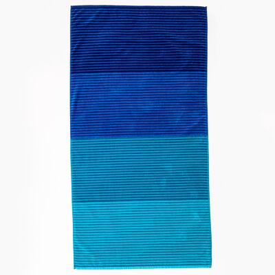 Toalla de Playa Jacquard Stripes 86 x 160 cm