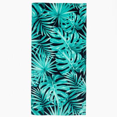 Toalla de Playa Velour Fern 75 x 150 cm