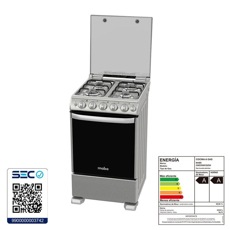 Cocina a Gas Mabe CME5550CSZX 74 lt