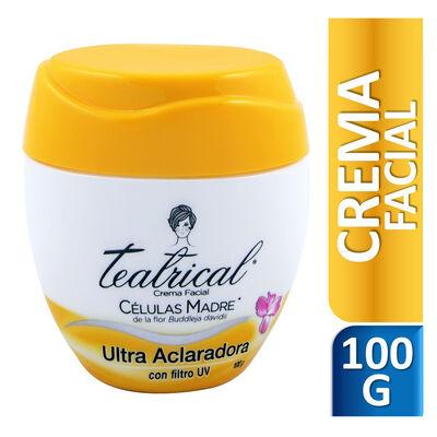 Teatrical Crema Facial Aclaradora 100gr